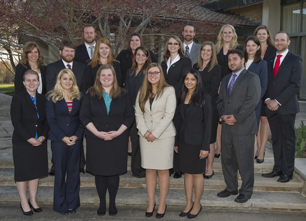 Moot Court Group picture