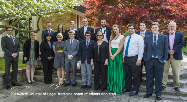 Journal of Legal Medicine Awards