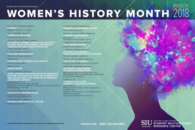 SIU's 2018 Women's History Month features Ryan Bioethicist in Residence Lecture
