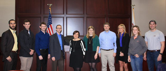 IPS Hosts Luncheon with Monsanto IP attorneys | Law | SIU