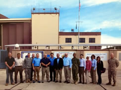Professors Dervan and Behan at GTMO
