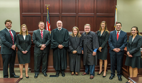 2016 Moot Court teams