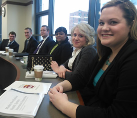students participate in Edward L. Bryant NHLMC Competition